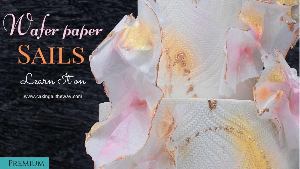 How to make wafer paper sails