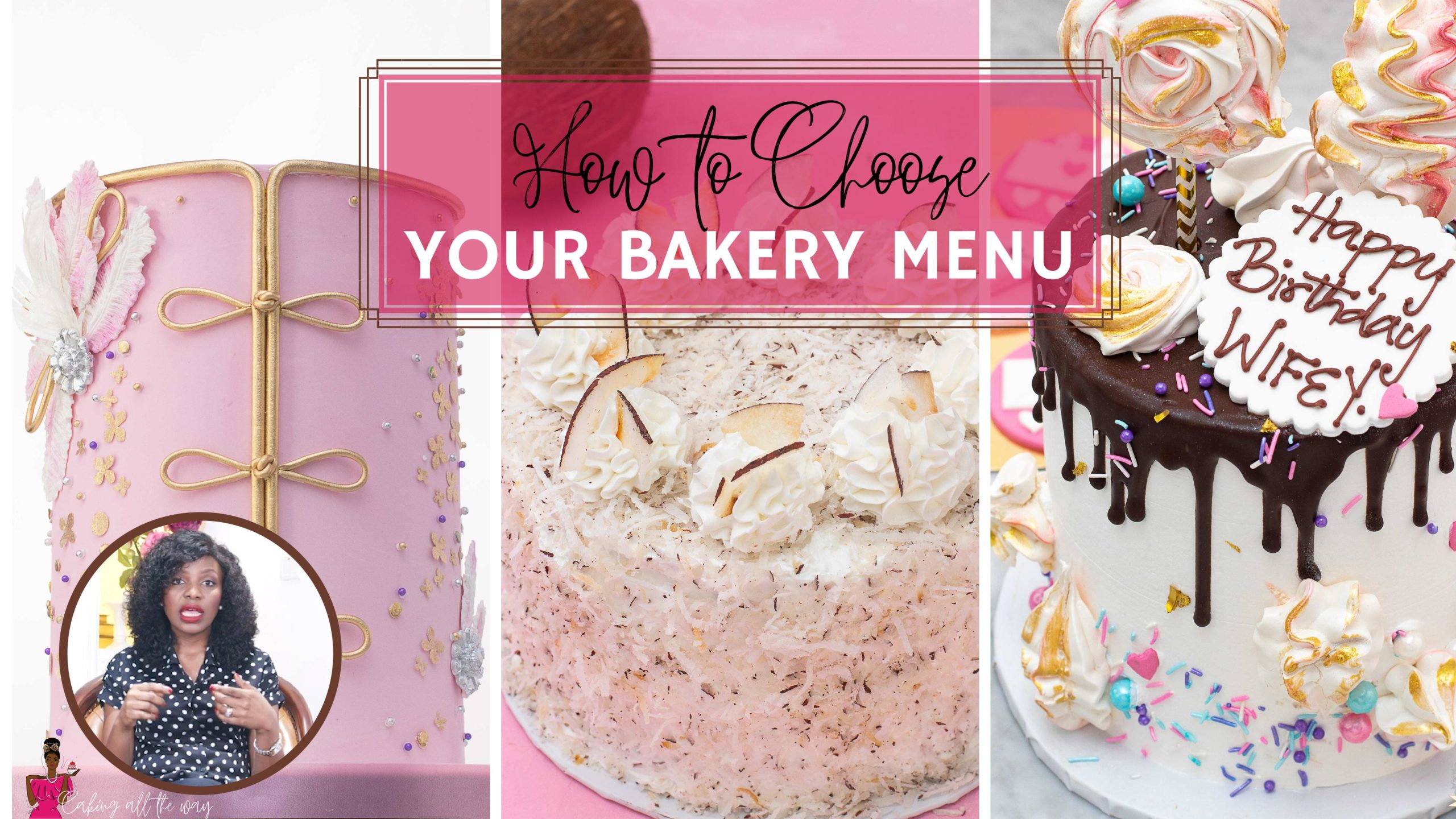 How to Choose your Bakery Menu
