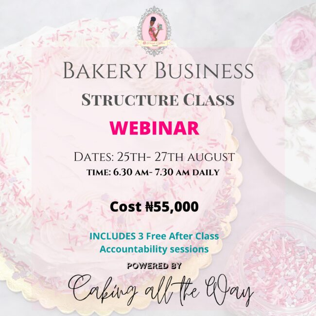 Bakery Structure Class