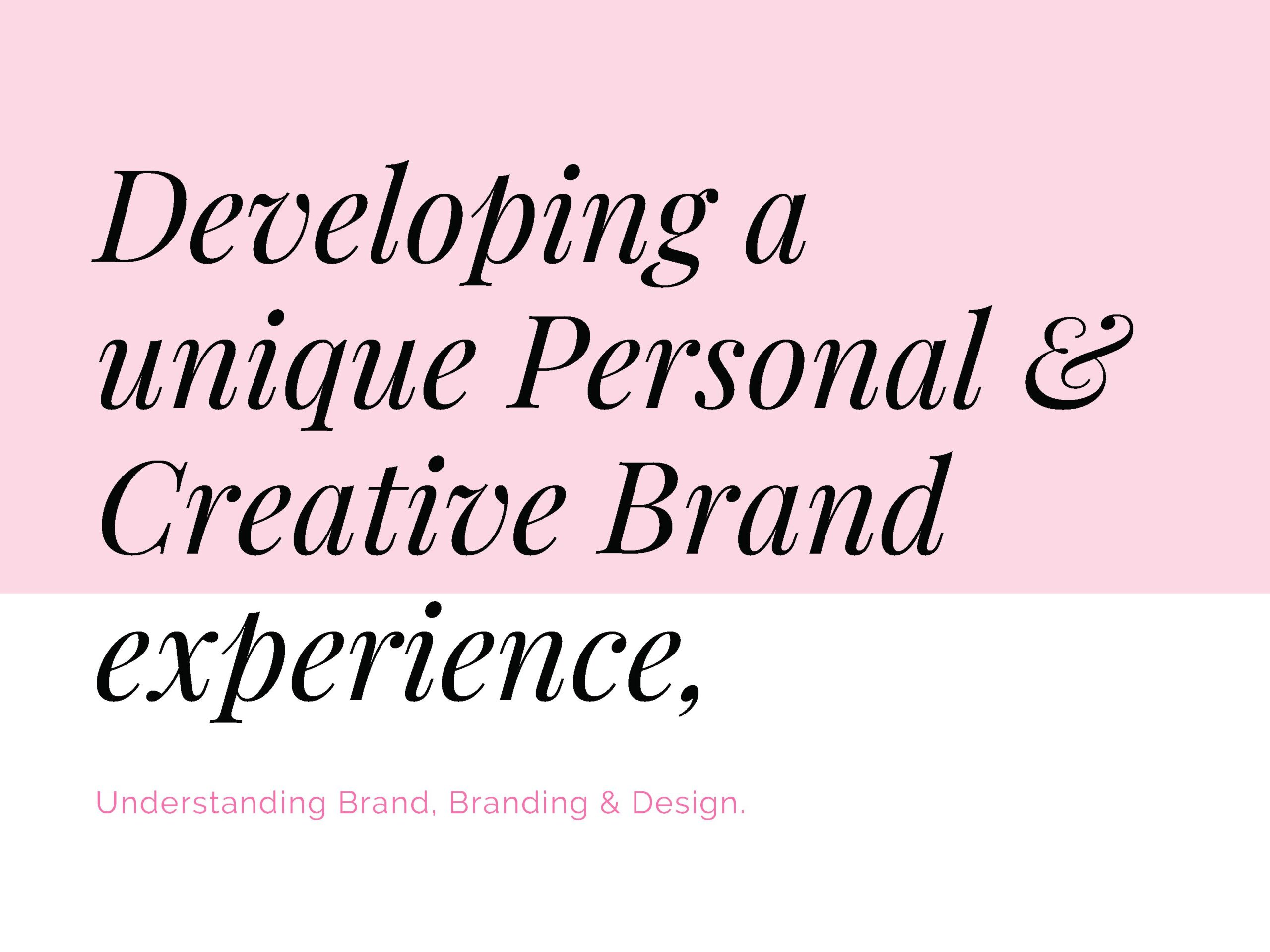 How to Create a Powerful Brand experience